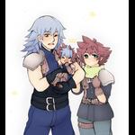 KP: Sora Riku + Soku cosplay by TouchMySitar