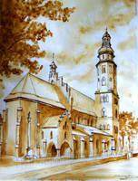 Parish church in Radom by lizard-e-a