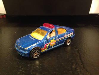 Matchbox 1999 BMW 328i Police Car by PATyler1