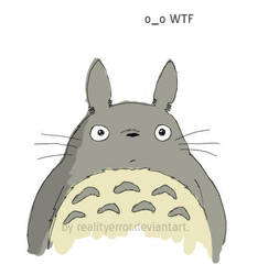 Totoro WTF by realityerror