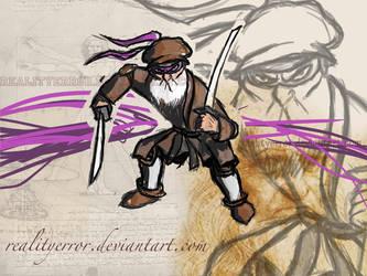 Leonardo Da Ninja by realityerror