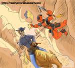 Jonah Hex VS Deadpool by realityerror