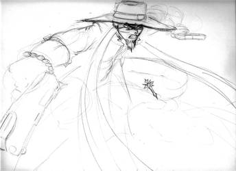 gunslinger priest by jesusjr