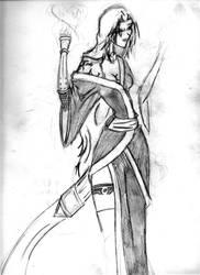 samurai girl by jesusjr