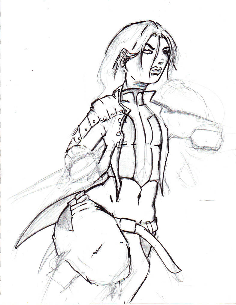 warrior chick by jesusjr