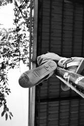 The pole climber II by CarmelRoseRegencia