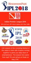 Indian Premier League 2018, IPL 2018, NewsroomPos by newsroompost