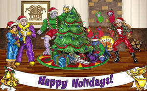 Twogargs 2011 Christmas Card by twogargs