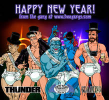 Happy New Year 2015! by twogargs