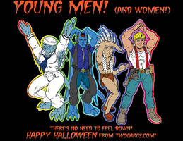 Happy Halloween 2015 by twogargs