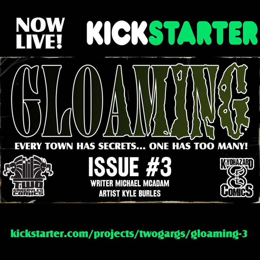 Gloaming Kickstarter Launch! by twogargs