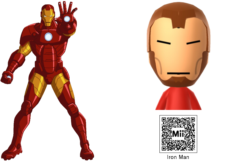 Iron Man Mii Related Keywords Suggestions Iron Man Mii Long Tail