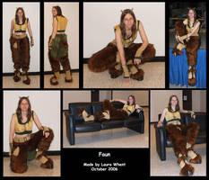 Faun Costume by dragonfyredawn