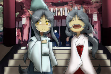 Shinto Babies by GrapeIcies