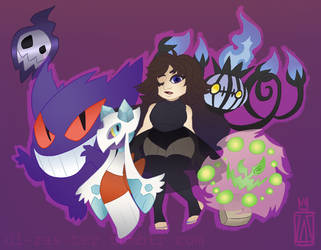 Gym Leader Ri would like to battle! by ZombieComplex