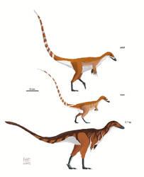 Sinosauropteryx prima by MattMart