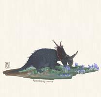 Monoclonius crassus by MattMart