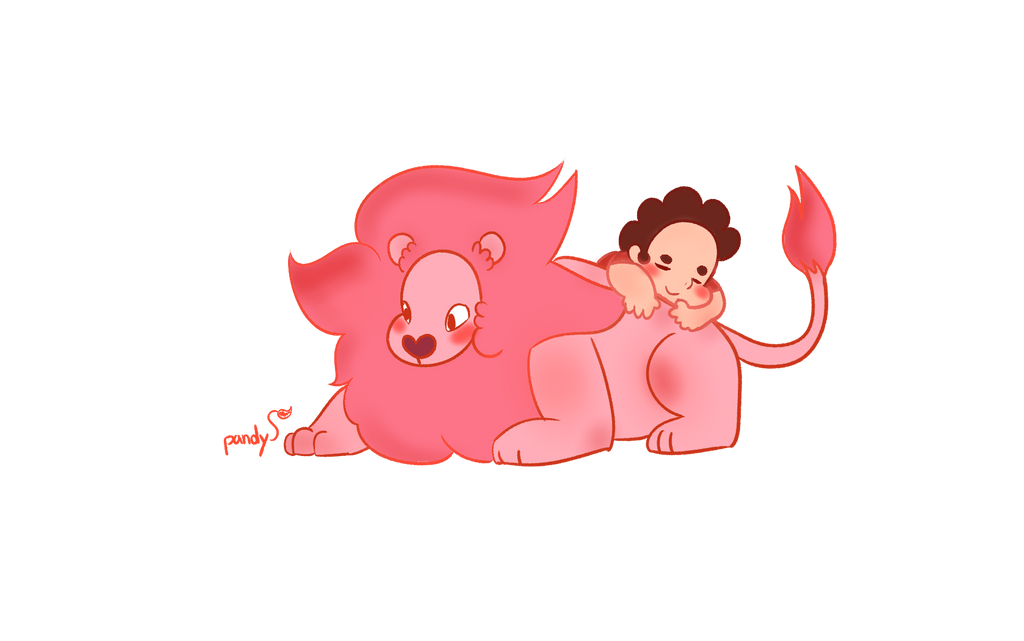 Steven And lion!