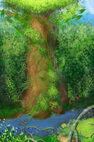 The Tree of Mana by OceansDream
