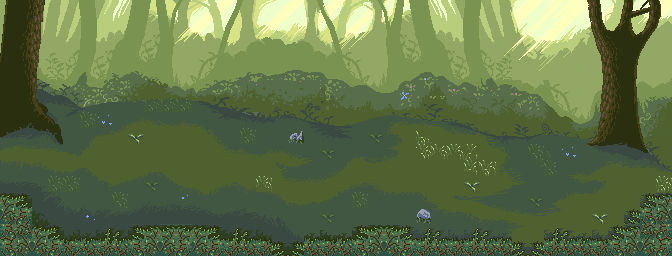 Battle background: Forest by OceansDream