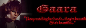 Gaara Siggy for KD by MagickDream