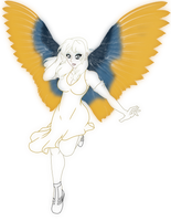 Lorelei for GeoCaecias by MagickDream