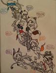 Inktober - Day 27 - CLIMB by MagickDream