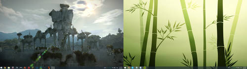 Desktop Currently by lordofring07