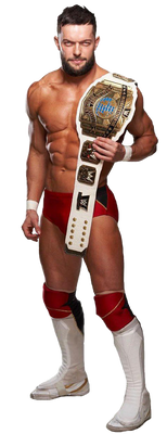 Finn Balor 2019 New Render Ic Champion By WWE Desi by WWEDESIGNERS