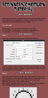 Beginners Emoticon Tutorial v1 by SquishedPixel
