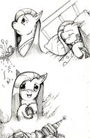 Pinkie/Pinkamina expressions. by dreamingnoctis