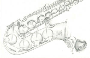 Saxophone by tarapanda44