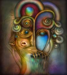 old rainbow monster by gepardsim