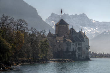 Chillon HDR by bribesdemoi