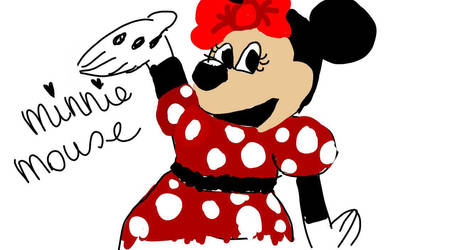 Minnie mouse fail by scribbcake