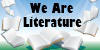 WeAreLiterature Logo Idea 2 by MagicalJoey
