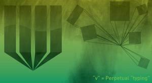 Perpetual Typing by peacefreak99