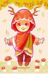 NatureHijabi 1 - autumnydeer by ambientdream
