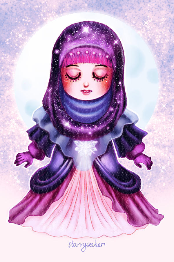 NatureHijabi 4 - starryseeker by ambientdream