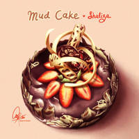 chocolate mud cake by ambientdream