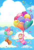 NanaNiniBobo : happy balloons by ambientdream