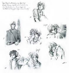 some drafts- Jasper Whitlock by nami64