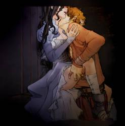 Godric and Rowena by nami64