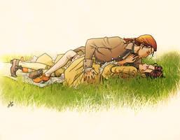 innocent picnic by nami64