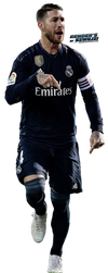 Sergio Ramos by szwejzi