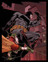 Dark Knight color warm up by Doug Garbark by DougGarbark
