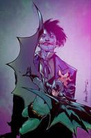 Batman Joker COLOR by DougGarbark