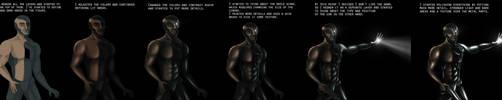 'Cyborg' - Step by Step Tutorial by XDimov
