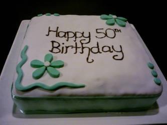 Simply Elegant Birthday Cake By 1 Lilith On DeviantArt