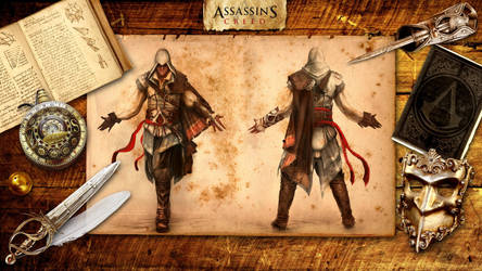 Assassin's Creed HD Wallpaper by Pmania